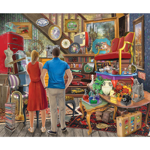 Forgotten Treasures 300 Large Piece Jigsaw Puzzle