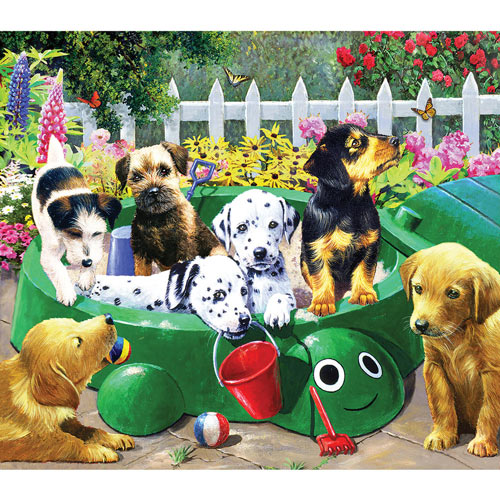 Puppy Nursery 300 Large Piece Jigsaw Puzzle