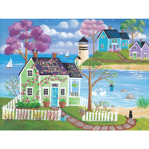 Spring Meadow Cove 300 Large Piece Jigsaw Puzzle