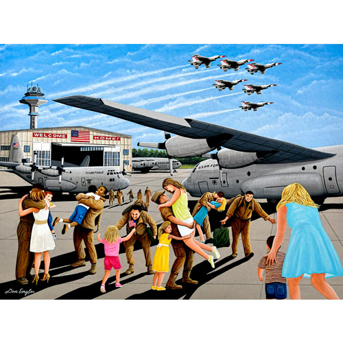 Family Welcome 1000 Piece Jigsaw Puzzle