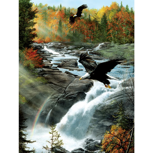 Gooseberry Falls 300 Large Piece Jigsaw Puzzle