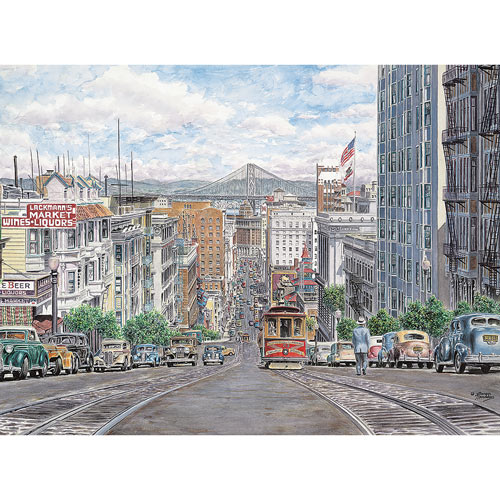 Down California 1000 Piece Jigsaw Puzzle
