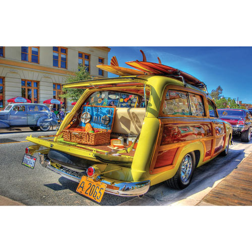 Woody Wagon 300 Large Piece Jigsaw Puzzle