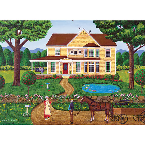 Charlotte's House 1000 Piece Jigsaw Puzzle
