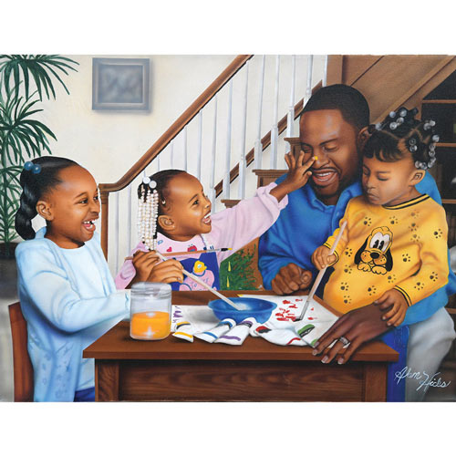 Daddy's Little Girls 500 Piece Jigsaw Puzzle