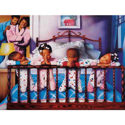 Their Nightly Prayers 500 Piece Jigsaw Puzzle