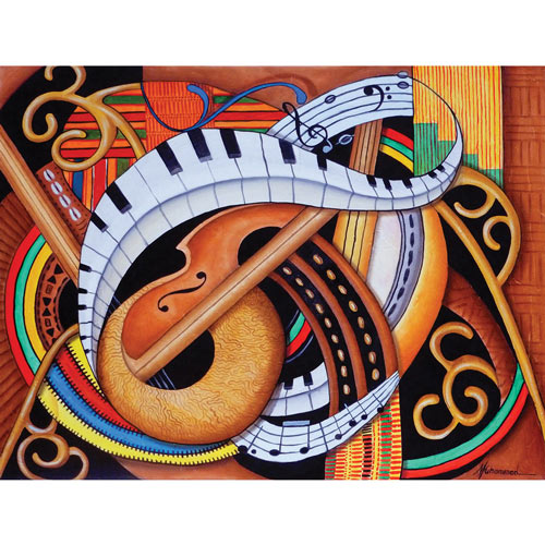Sound of Soul Strings 500 Piece Jigsaw Puzzle