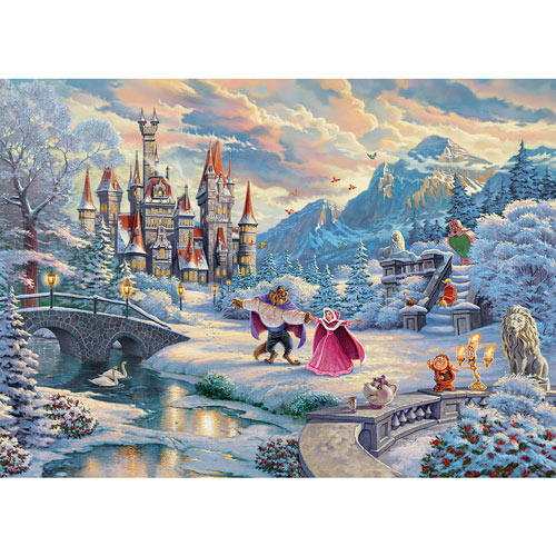 Beauty and The Beast 1000 Piece Jigsaw Puzzle