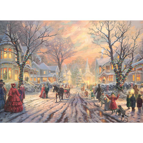 A Victorian Christmas Carol 1000 Piece Jigsaw Puzzle