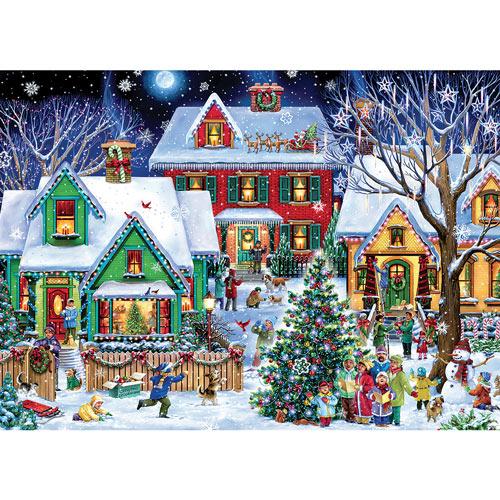 Christmas Houses 1000 Piece Jigsaw Puzzle