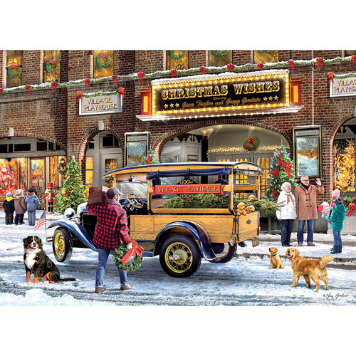 Christmas Theatre 1000 Piece Jigsaw Puzzle