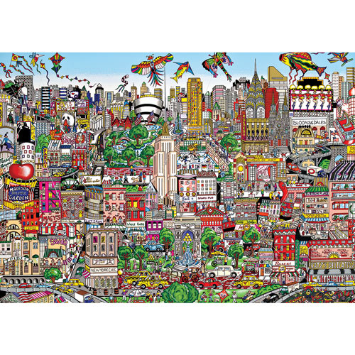 NYC The Wind Beneath Our Wings 300 Large Piece Jigsaw Puzzle