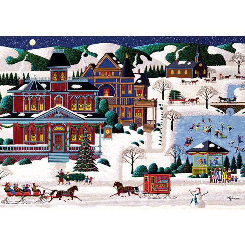 The Candlelight Inn 300 Large Piece Jigsaw Puzzle