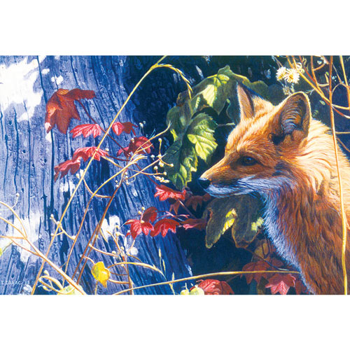 Autumn Red Fox 500 Piece Jigsaw Puzzle