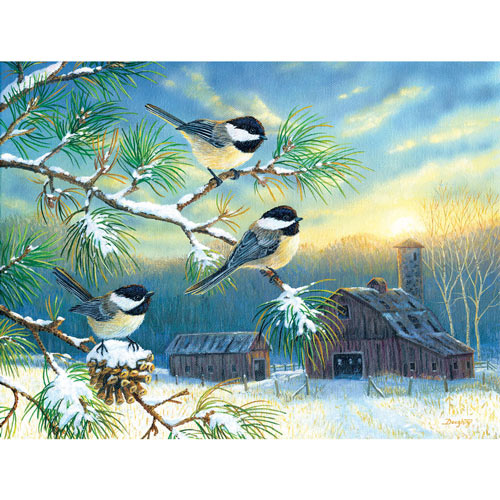 Farmland Spirits 300 Large Piece Jigsaw Puzzle