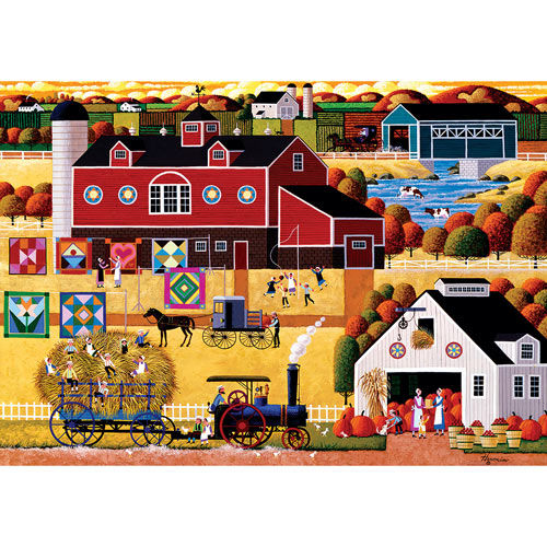 Amish Harvest 1000 Piece Jigsaw Puzzle