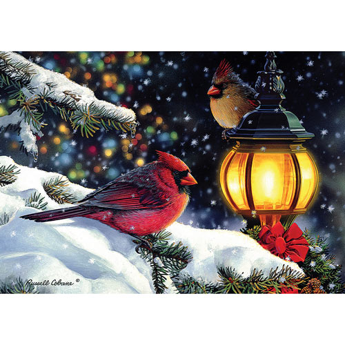 The Glow of Winter Light 1000 Piece Jigsaw Puzzle