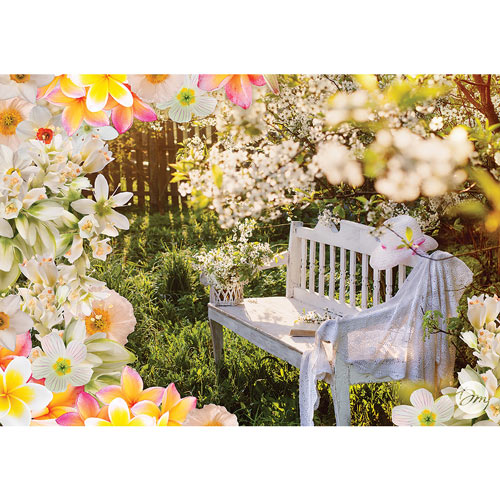 Garden Retreat 1000 Piece Jigsaw Puzzle
