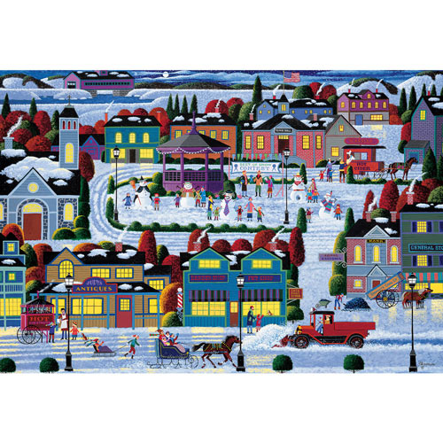 Best of Snow 300 Large Piece Jigsaw Puzzle