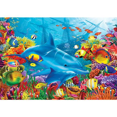 Dolphin Shipwreck 1000 Piece Jigsaw Puzzle