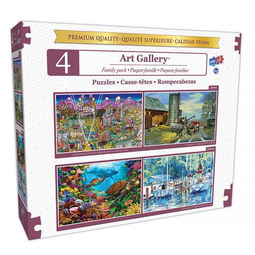 4 In 1 Art Gallery Multipack Set