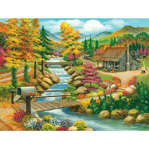 Fall Season 300 Large Piece Jigsaw Puzzle