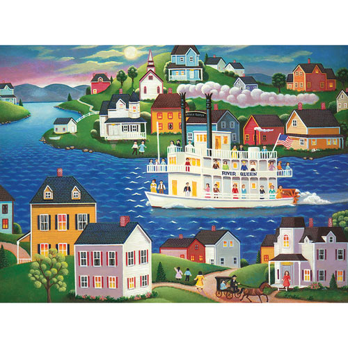 Evening Cruise 1000 Piece Jigsaw Puzzle