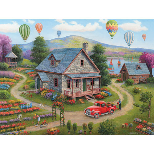 Summer Cottages 500 Piece Jigsaw Puzzle