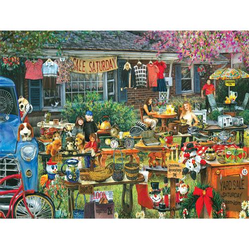 Spring Yard Sale 300 Large Piece Jigsaw Puzzle