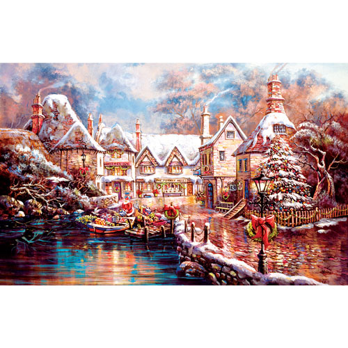 Christmas Cove 1000 Piece Jigsaw Puzzle