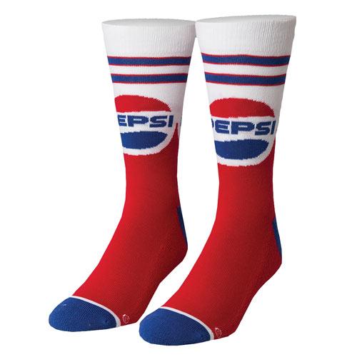 Pepsi Throwback Socks