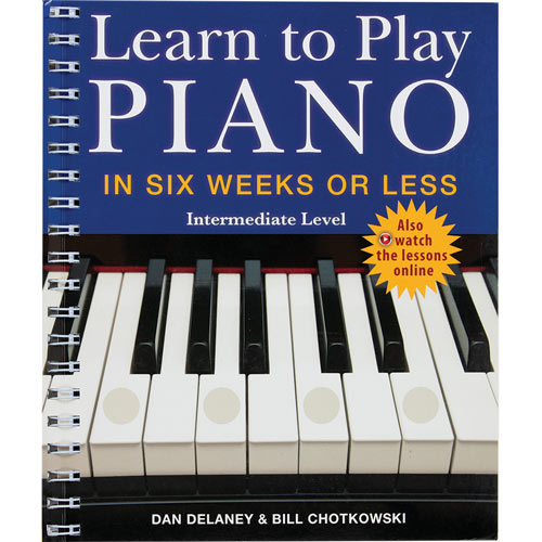 Learn To Play Piano: Intermediate Level Book