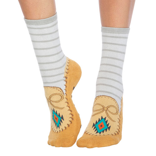 Moccasin Slipper Socks