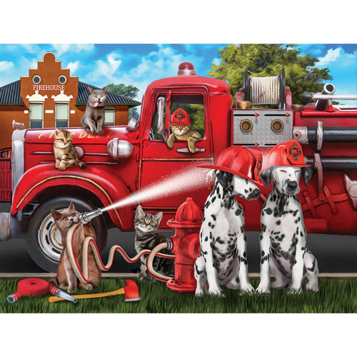Off Duty Fun 300 Large Piece Jigsaw Puzzle