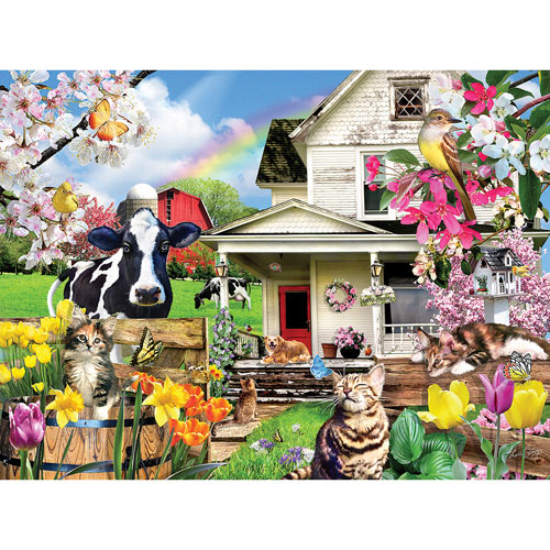 A Spring Day 300 Large Piece Jigsaw Puzzle