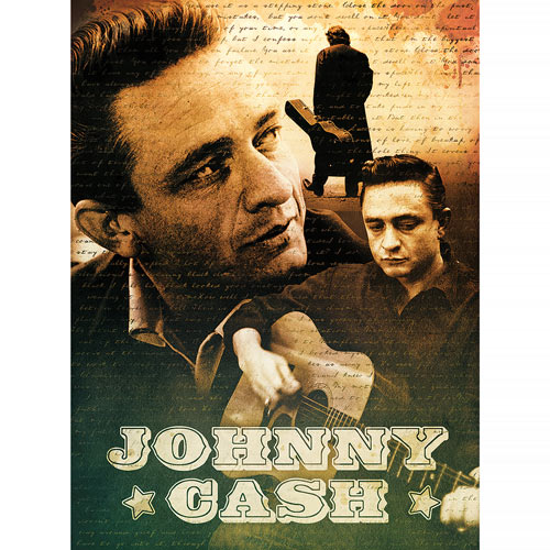 Johnny Cash 500 Piece Jigsaw Puzzle
