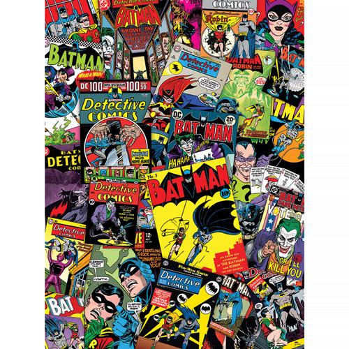 Batman Collage 1000 Piece Jigsaw Puzzle