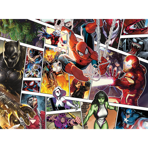 Marvel Panels 500 Piece Jigsaw Puzzle