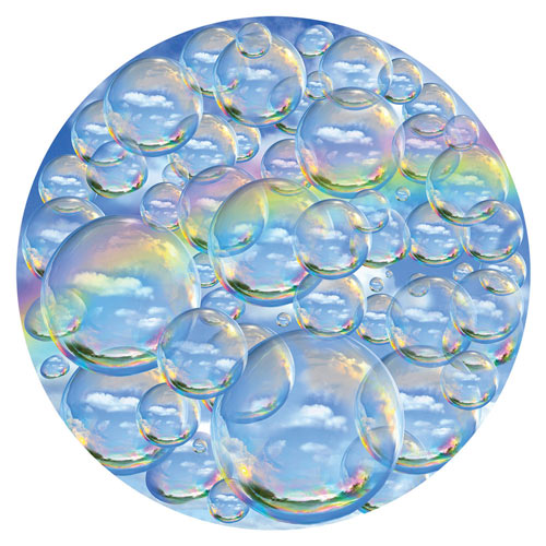 Bubble Trouble 1000 Piece Round Jigsaw Puzzle