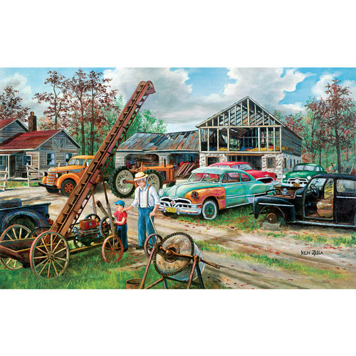 In Grandpa's Footsteps 300 Large Piece Jigsaw Puzzle