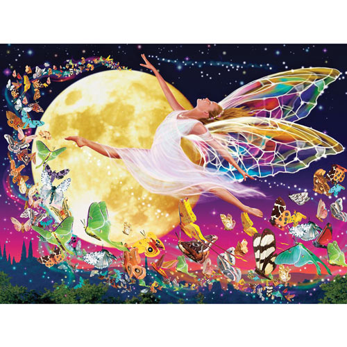 Moon Fairy 300 Large Piece Jigsaw Puzzle