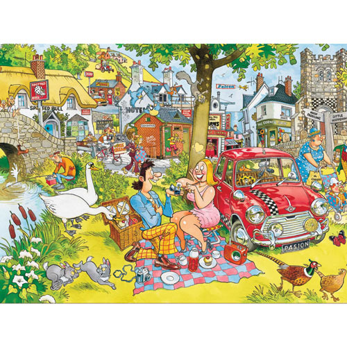 The Proposal 1000 Piece Wasgij Jigsaw Puzzle