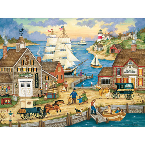 The Captain's Return 300 Large Piece Jigsaw Puzzle