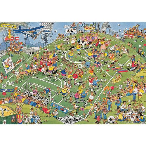 Football 500 Piece Jigsaw Puzzle