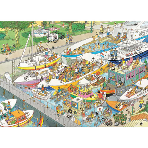 The Locks 1000 Piece Jigsaw Puzzle