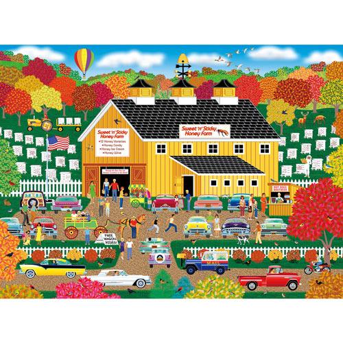 Sweet 'n' Sticky Honey Farm 300 Large Piece Jigsaw Puzzle