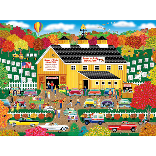 Sweet 'n' Sticky Honey Farm 500 Piece Jigsaw Puzzle