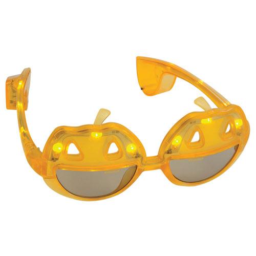 LED Halloween Glasses: Jack o' Lanterns