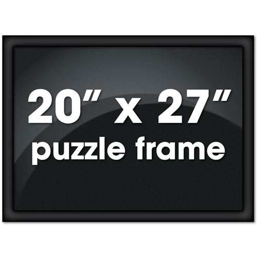 20 X 27 Black Metal Channel Frame