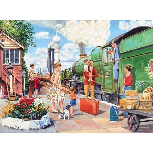 The Train Driver 1000 Piece Jigsaw Puzzle